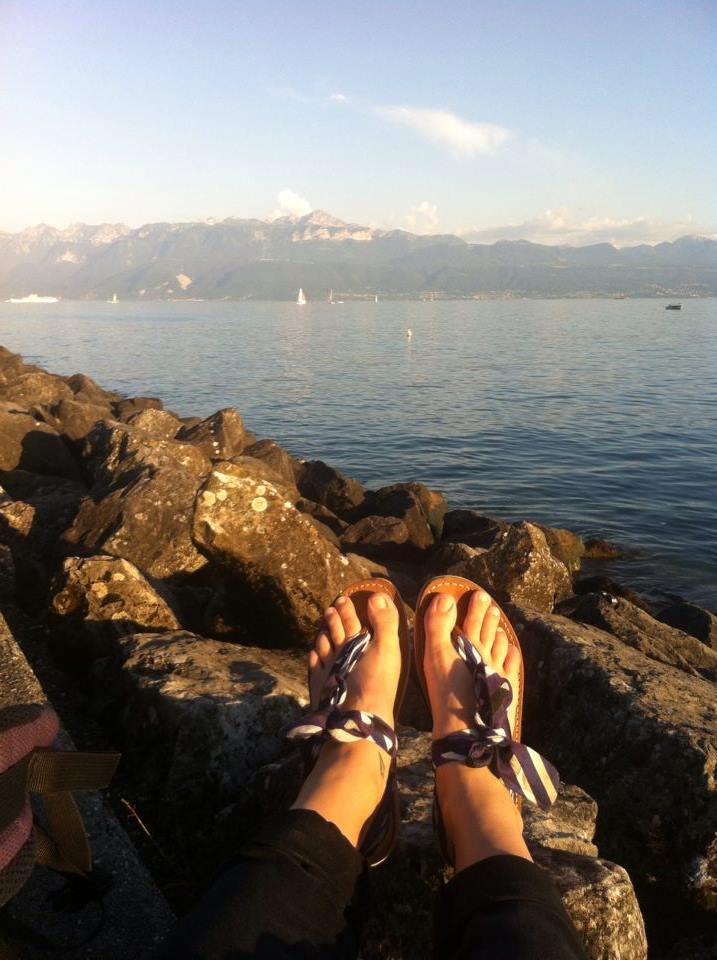 Aurélie, Lac Léman [Suisse]