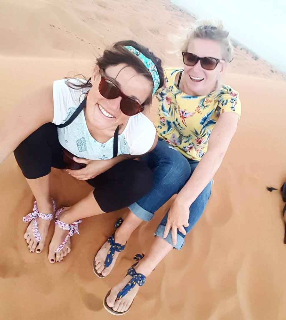 Aurélie, Maroc