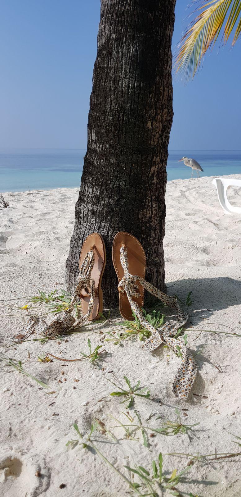 Claire, Maldives
