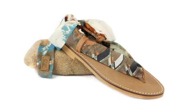 Canelle-sandales-classico-rubans-deothie-tissus-interchangeables-cuir