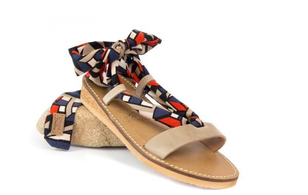 moderno-compensées-rubans-sandales-deothie-tissus-interchangeables