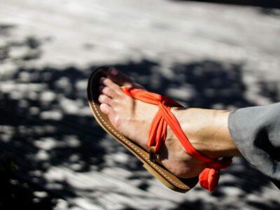 Sandale Classico avec le ruban Victorine